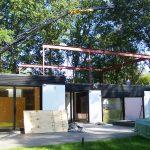 Constructie op bestaand huis
